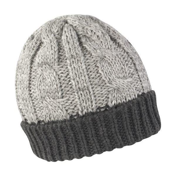 Reklamní čepice zimní šedá