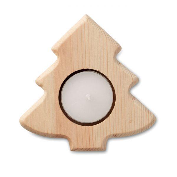 Vánoční reklamní stojánek na svíčku strom