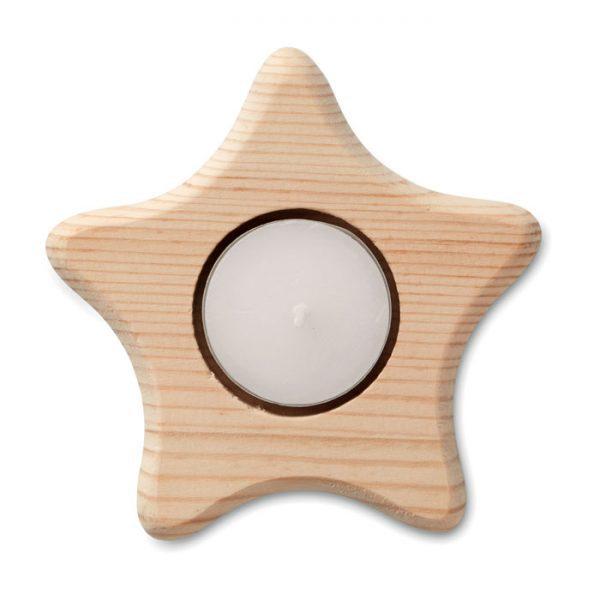 Vánoční reklamní stojánek hvězda