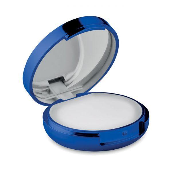 Reklamní balzám na rty DUO Mirror modrý