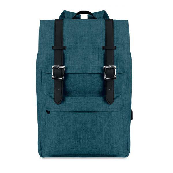 Reklamní batoh na notebook RIGA modrý