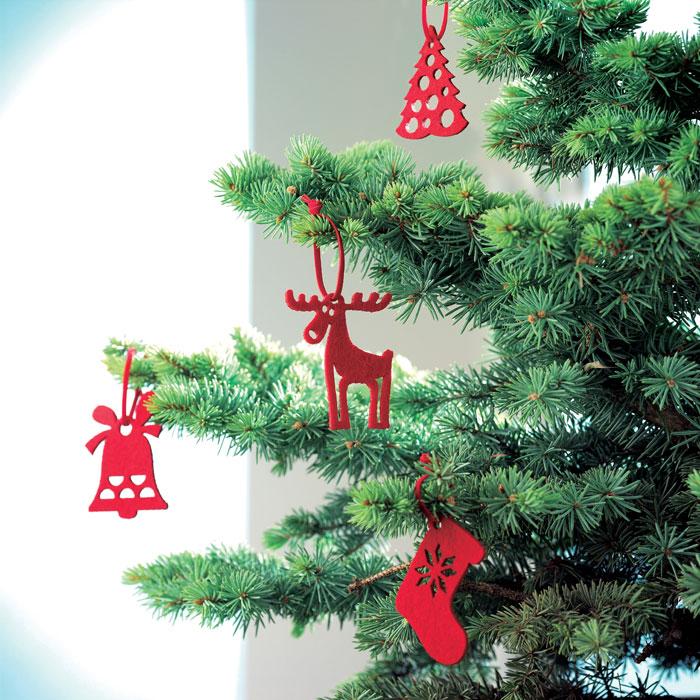 Vánoční reklamní ozdoby ROUGE 1