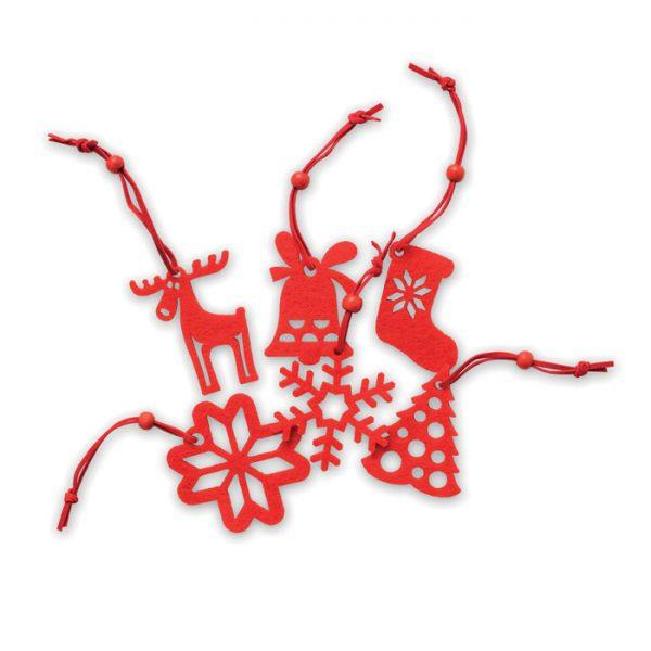 Vánoční reklamní ozdoby ROUGE
