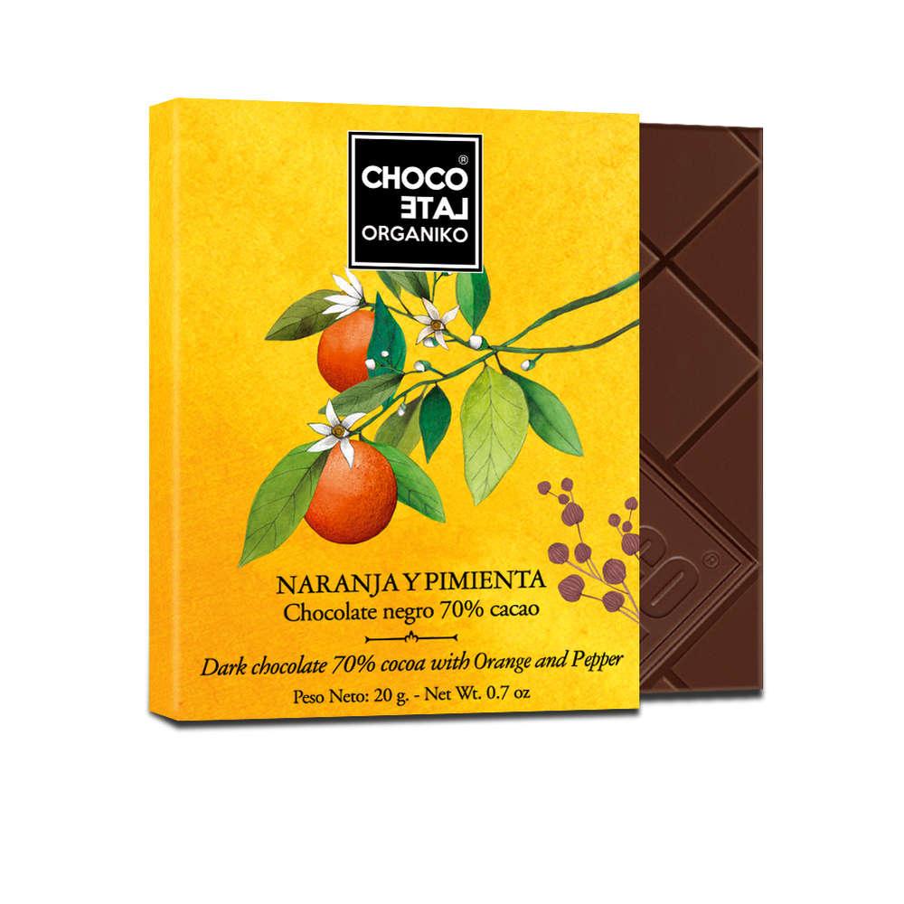 Čokoláda pomerač a pepř 70%