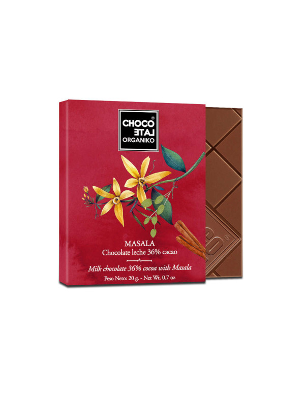 Bio čokoláda MASALA