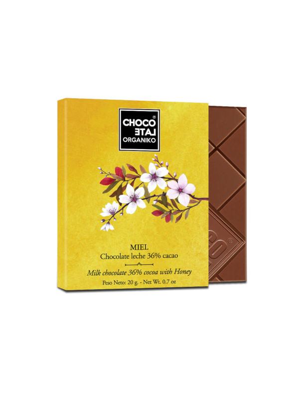 Bio čokoláda s medem