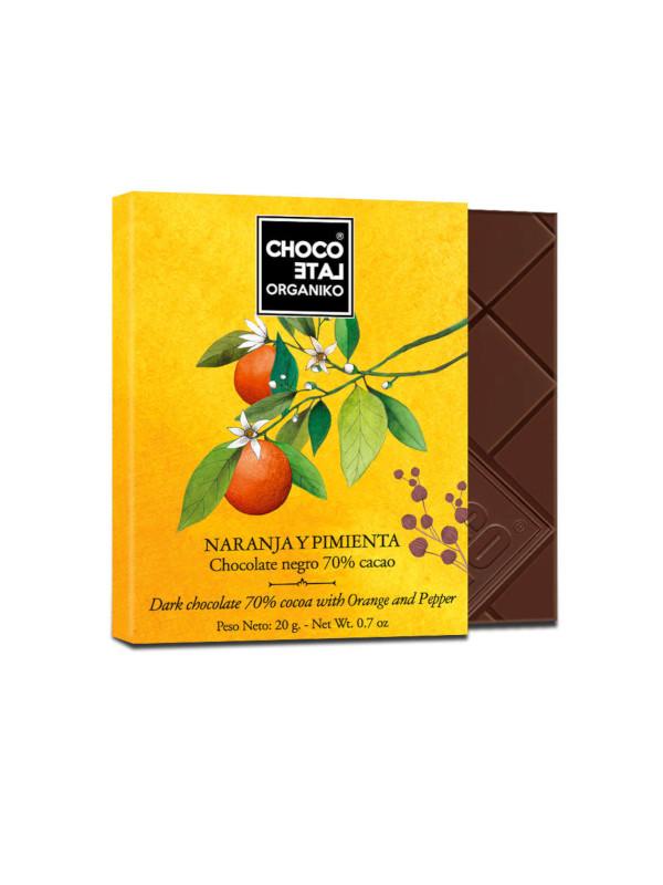 Čokoláda s pomerančem a pepřem