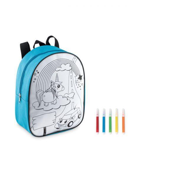 Dětský batoh s popisovači