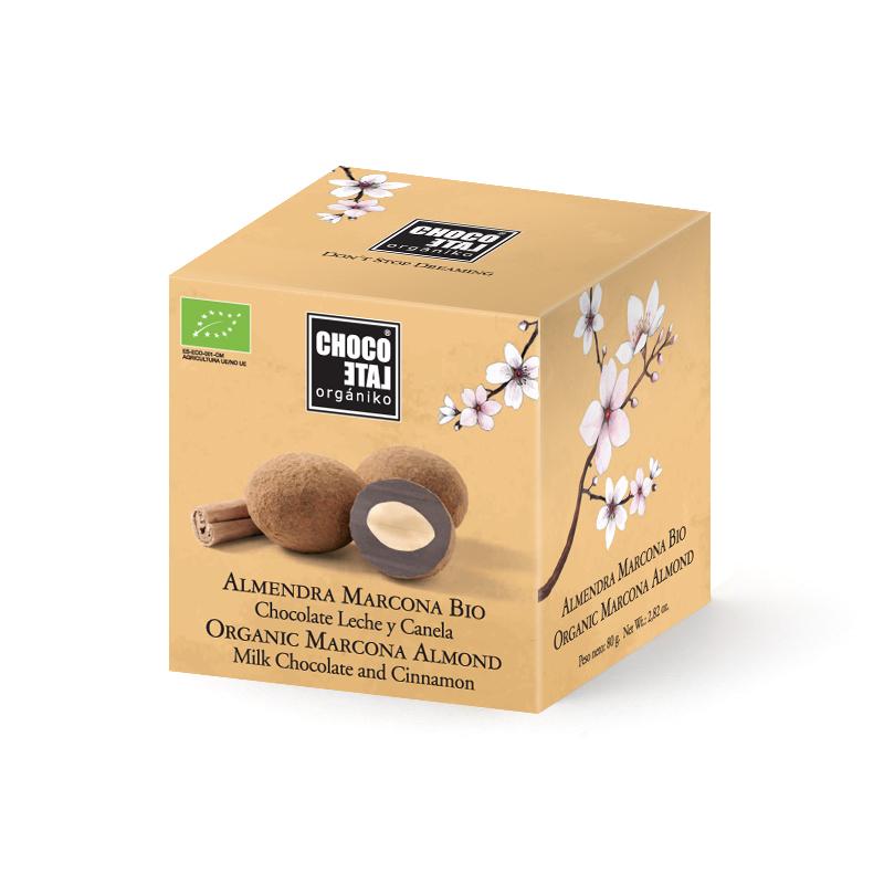 Mandle v čokoláde se škořicí 36%