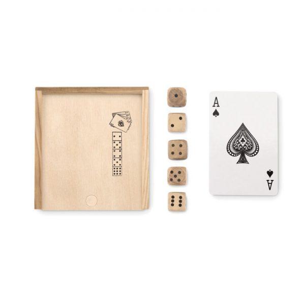 Karty a kostky v krabičce LAS VEGAS