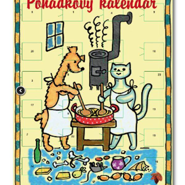 Adventní kalendář - Pejsek a kočička