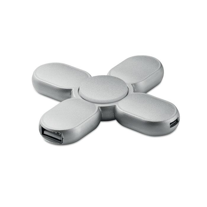 Reklamní spinner Spinner Hub šedý