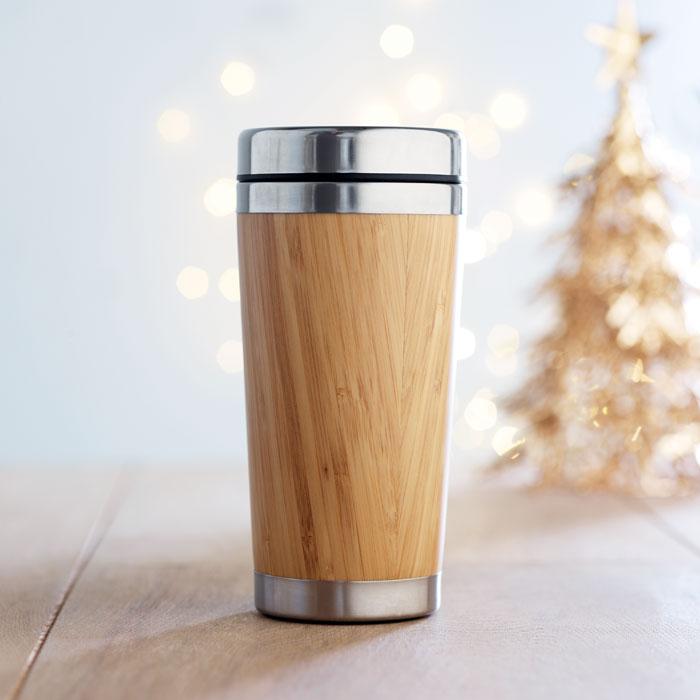 bambusový reklamní termohrnek RODEODRIVE 2