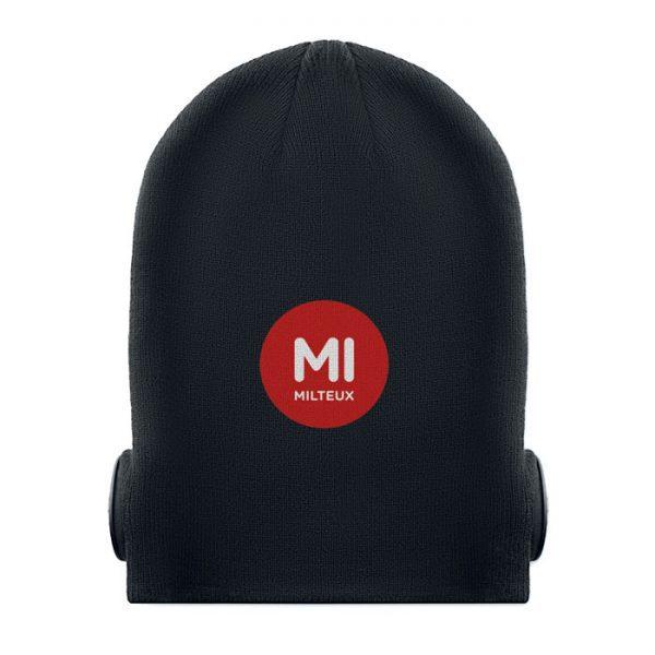 Bluetooth čepice se slúchatky