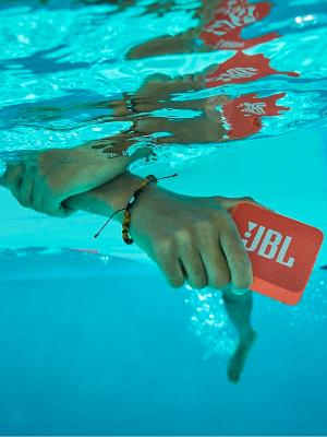 JBL GO 2 ve vodě