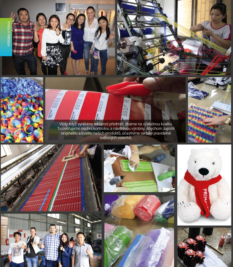 Zakázková výroba - Čína