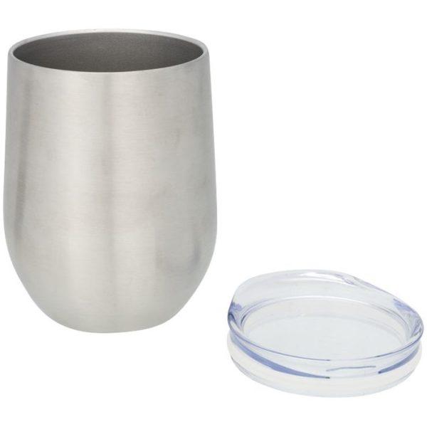 Reklamní termohrnek Corzo stříbrný