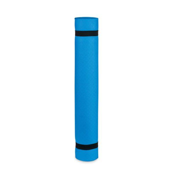 Reklamní podložka na cvičení YOGI modrá
