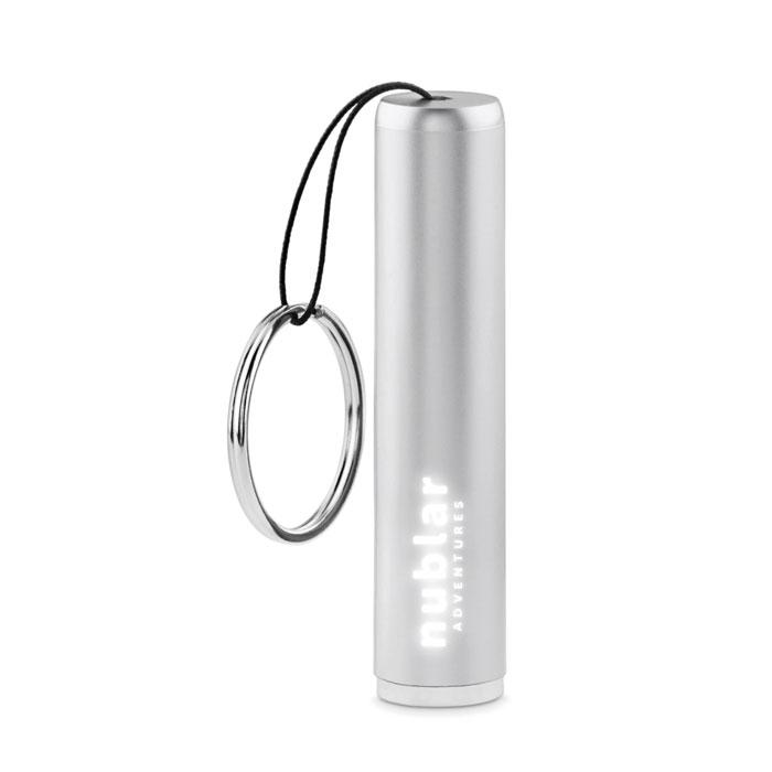 Reklamní baterka SANGLIGHT stříbrná