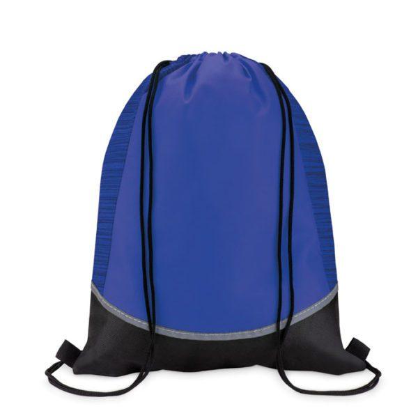reklamní stahovací batoh WOOFY modrý