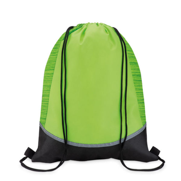 reklamní stahovací batoh WOOFY zelený