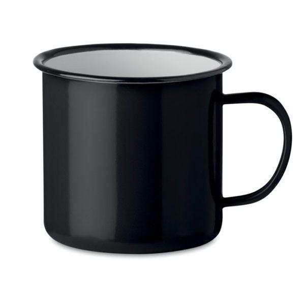 Reklamní smaltovaný hrnek ORIGINAL TWEENIES černý
