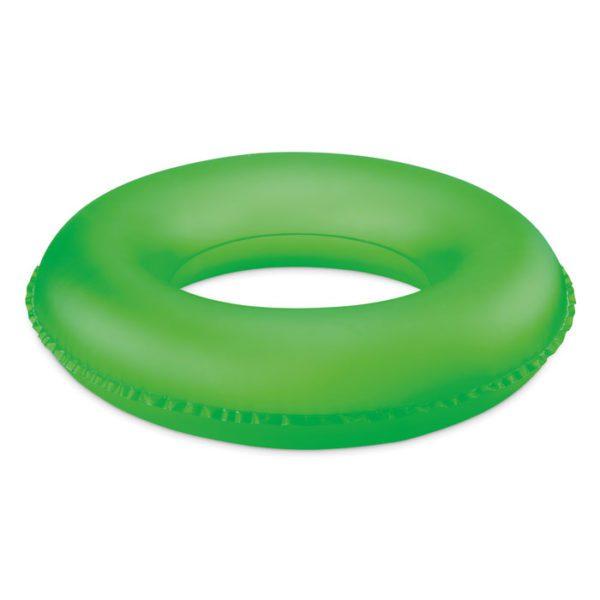 Reklamní nafukovací kruh pro děti zelený