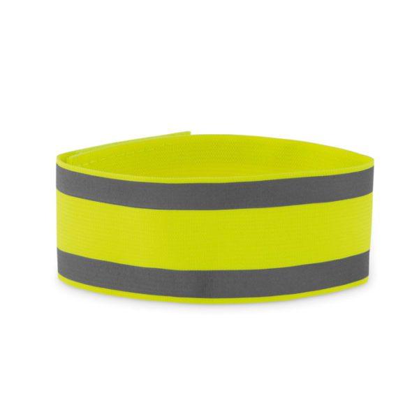 Reklamní reflexní páska VISIBLE ME žlutá