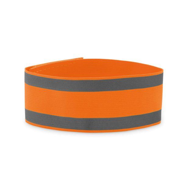 Reklamní reflexní páska VISIBLE ME oranžová