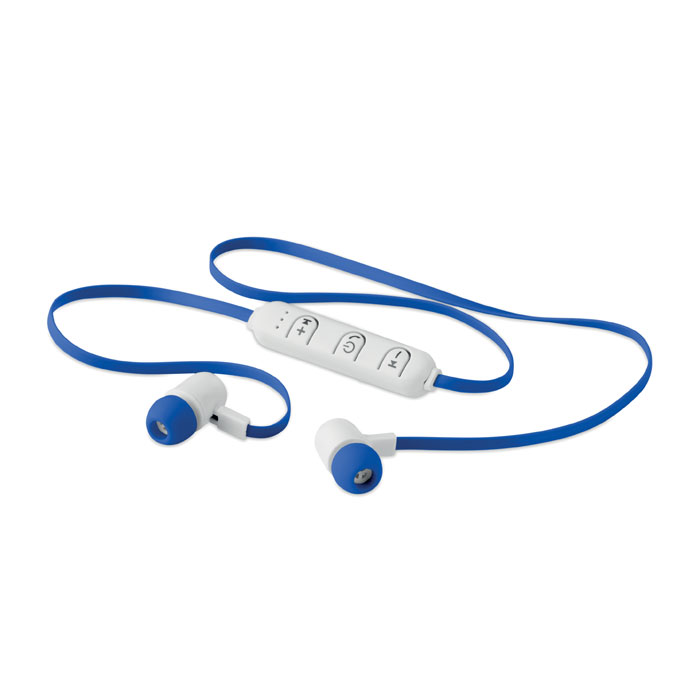 Reklamní bluetooth sluchátka JAZZ modrá