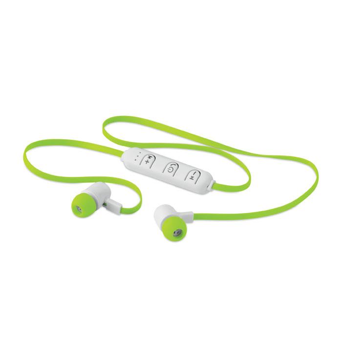 Reklamní bluetooth sluchátka JAZZ zelená