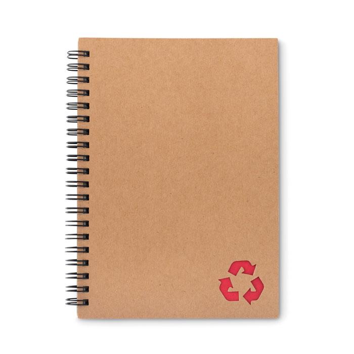Reklamní zápisník STONEBOOK červený