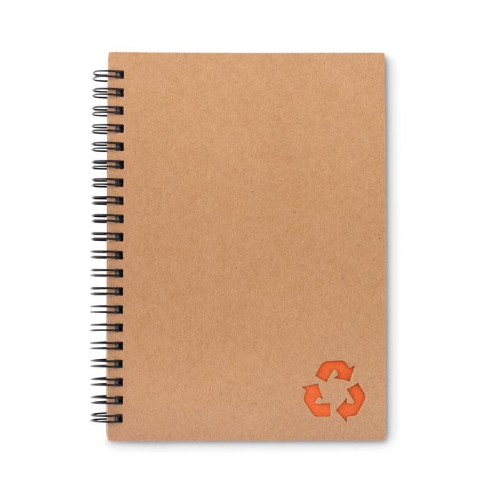Reklamní zápisník STONEBOOK oranžový