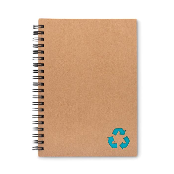 Reklamní zápisník STONEBOOK světle modrý