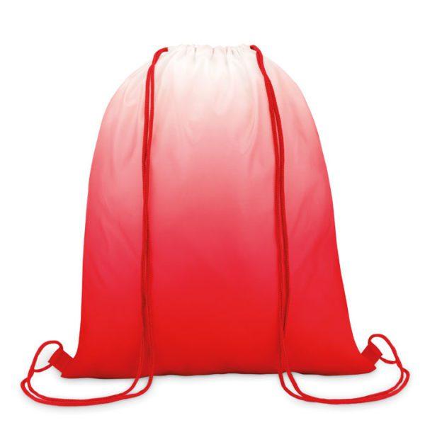 Reklamní vak na záda FADE BAG červený