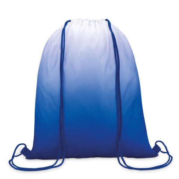 Reklamní vak na záda FADE BAG modrý