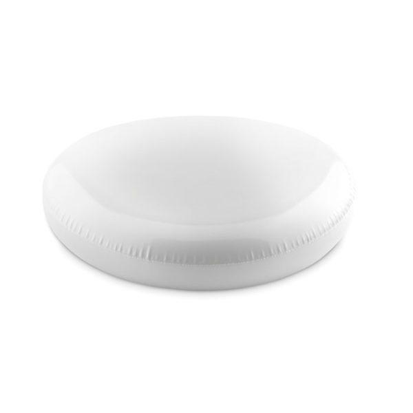 Reklamní nafukovací frisbee ADELAIDE bílé