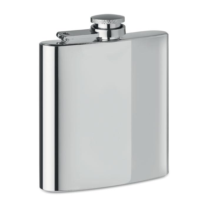 Reklamní placatka stříbrná