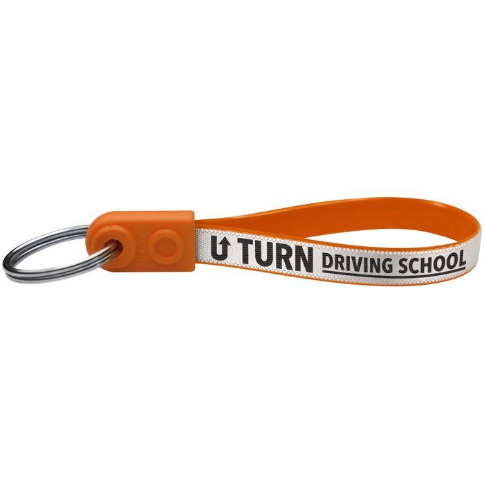Reklamní klíčenka Standard oranžová