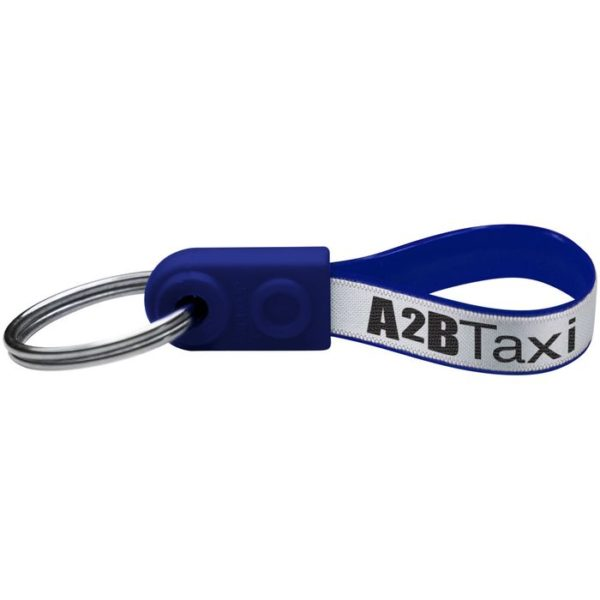 Reklamní klíčenka mini modrá