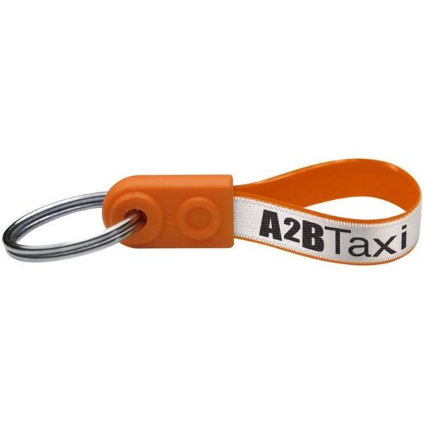 Reklamní klíčenka mini oranžová
