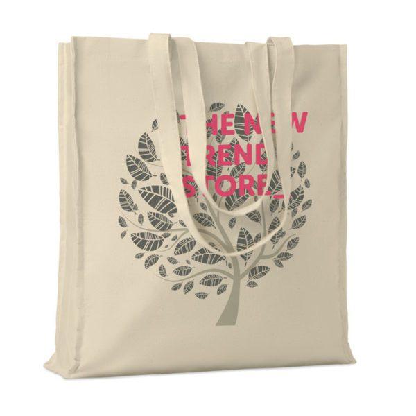Reklamní nákupní taška přírodní PORTOBELLO béžová s potiskem