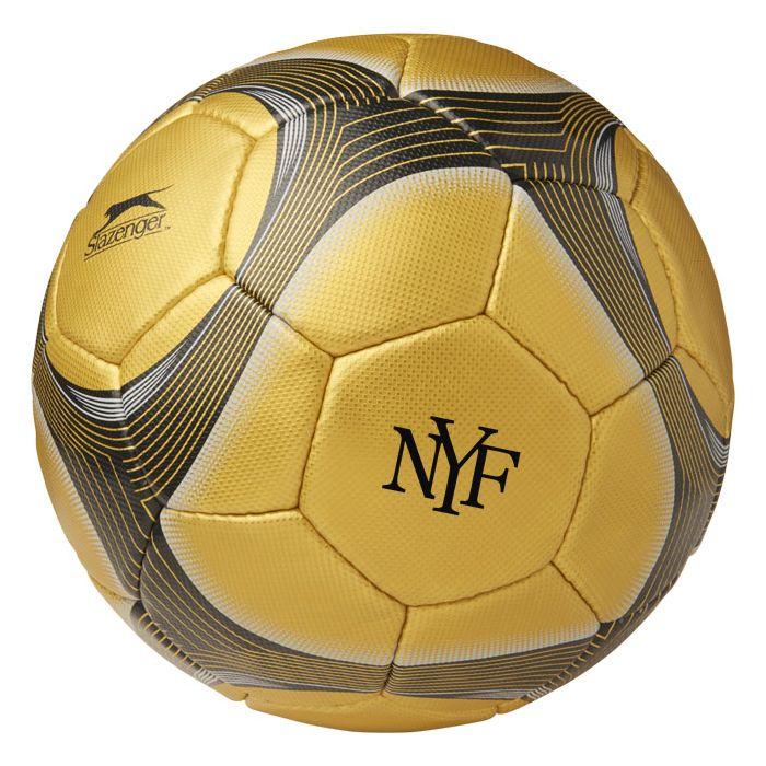Reklamní fotbalový míč zlatý 2