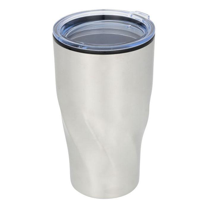 Reklamní termohrnek Hugo 2 stříbrný