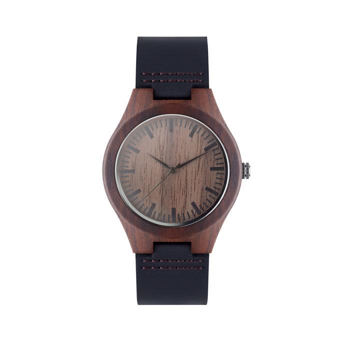 Reklamní hodinky SION hnědé