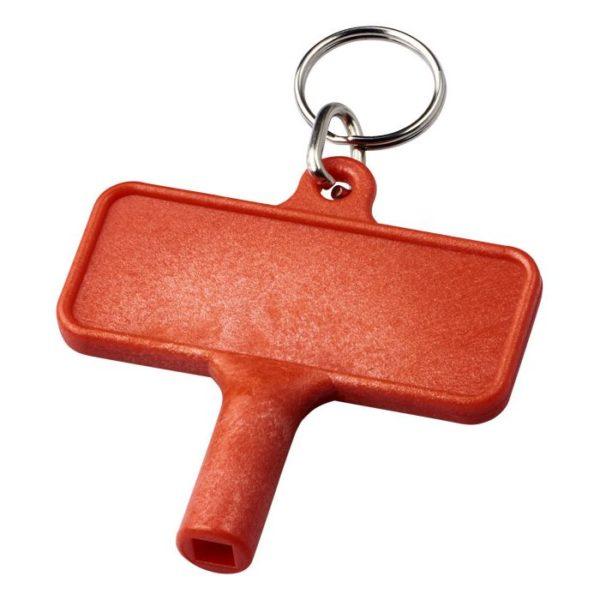 Reklamní odvzdušňovací klíč Largo červený