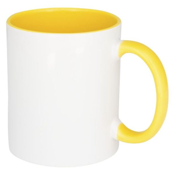 Reklamní hrnek Pix žlutý