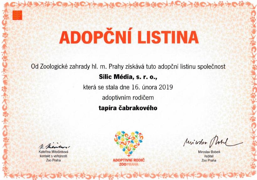 Adopční listina