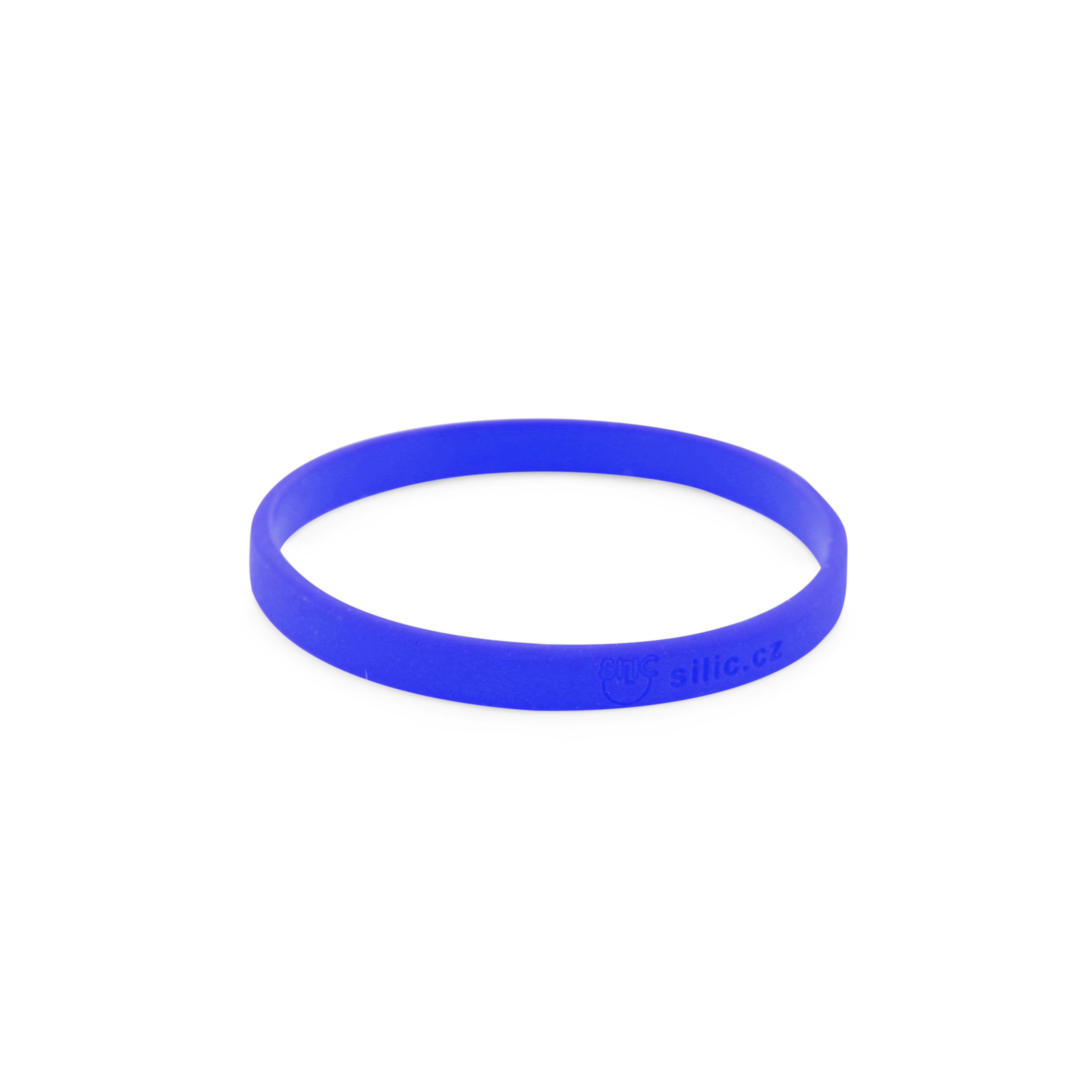 Náramek Deboss modrý