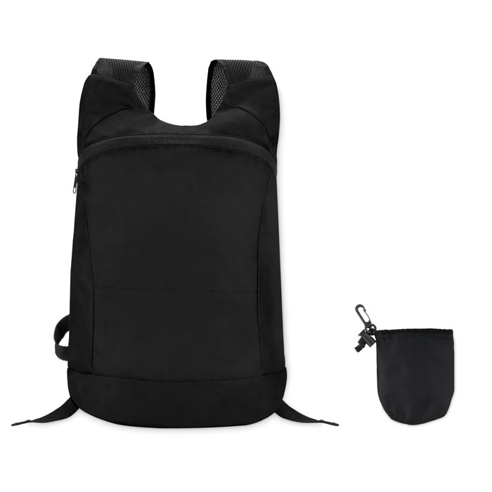 Reklamní skládací batoh JOGGY černý